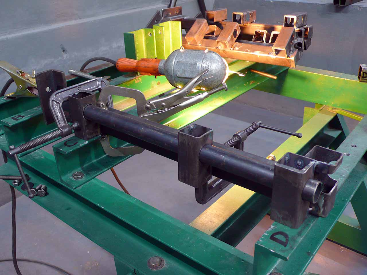 Chassis Jig Ludemannengineering