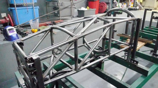 Front Roll Hoop Welded