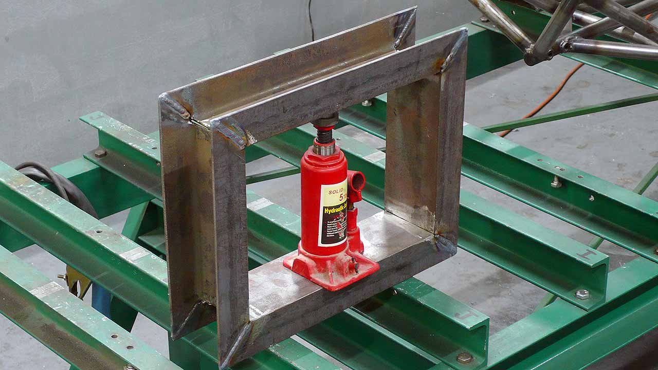 Building A Simple Hydraulic Press Ludemannengineering