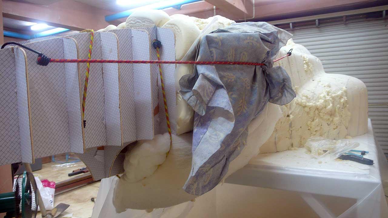 Building The Body Buck Part 1 Ribs Amp Foam