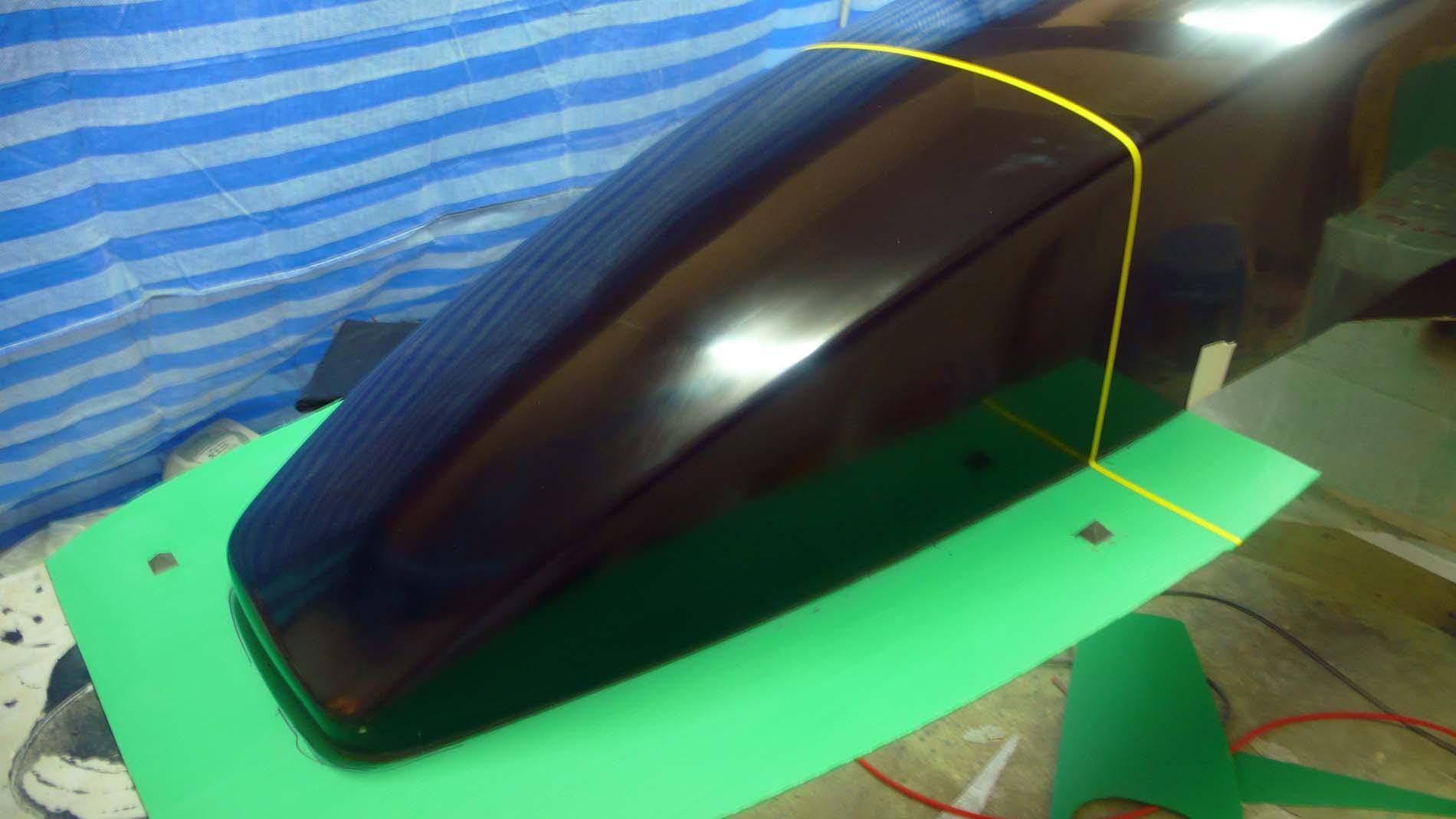 Fiberglass Mold Making Nose Tail Sidepod