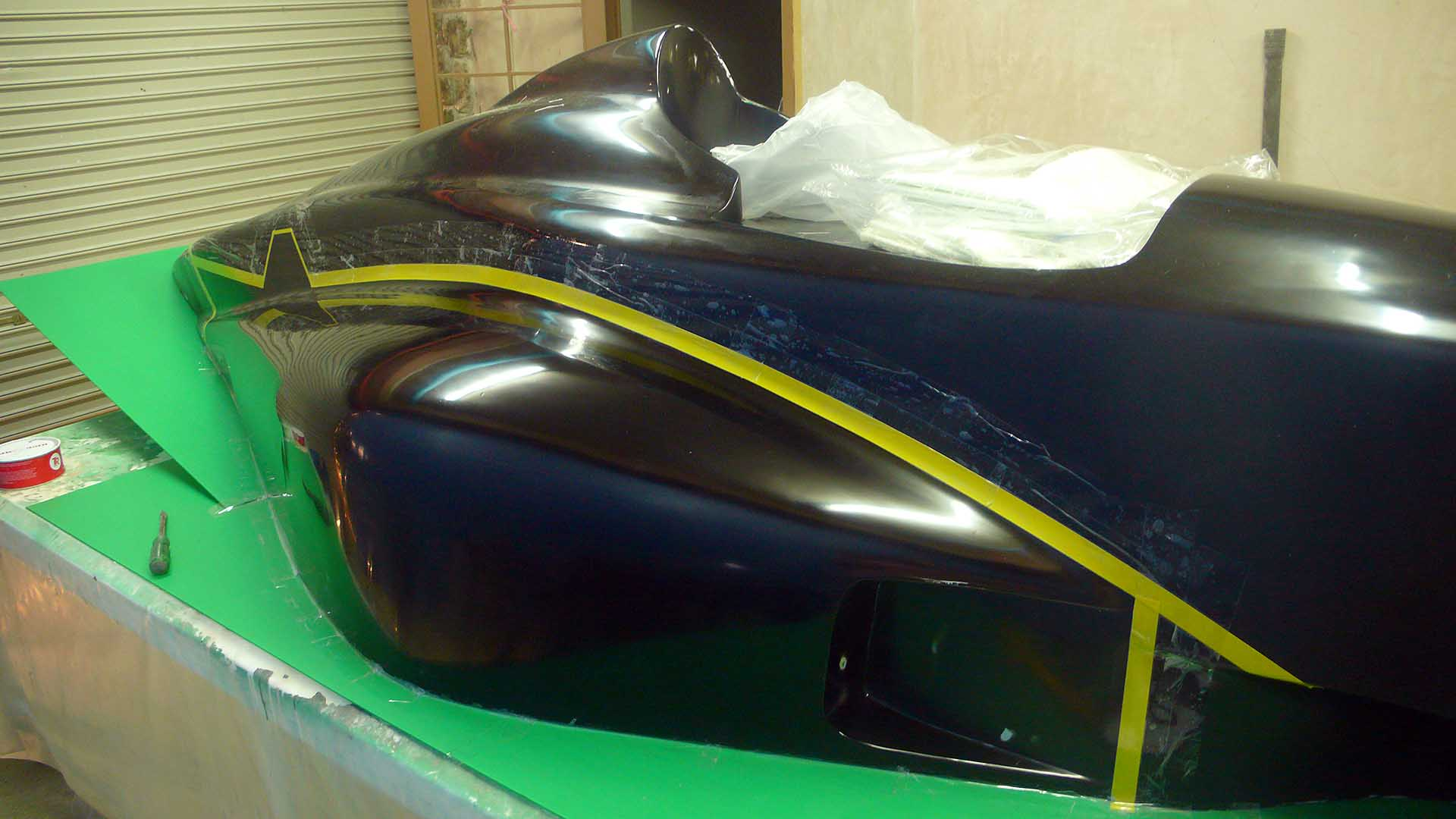 Fiberglass Mold Making- Nose, Tail, Sidepod ...