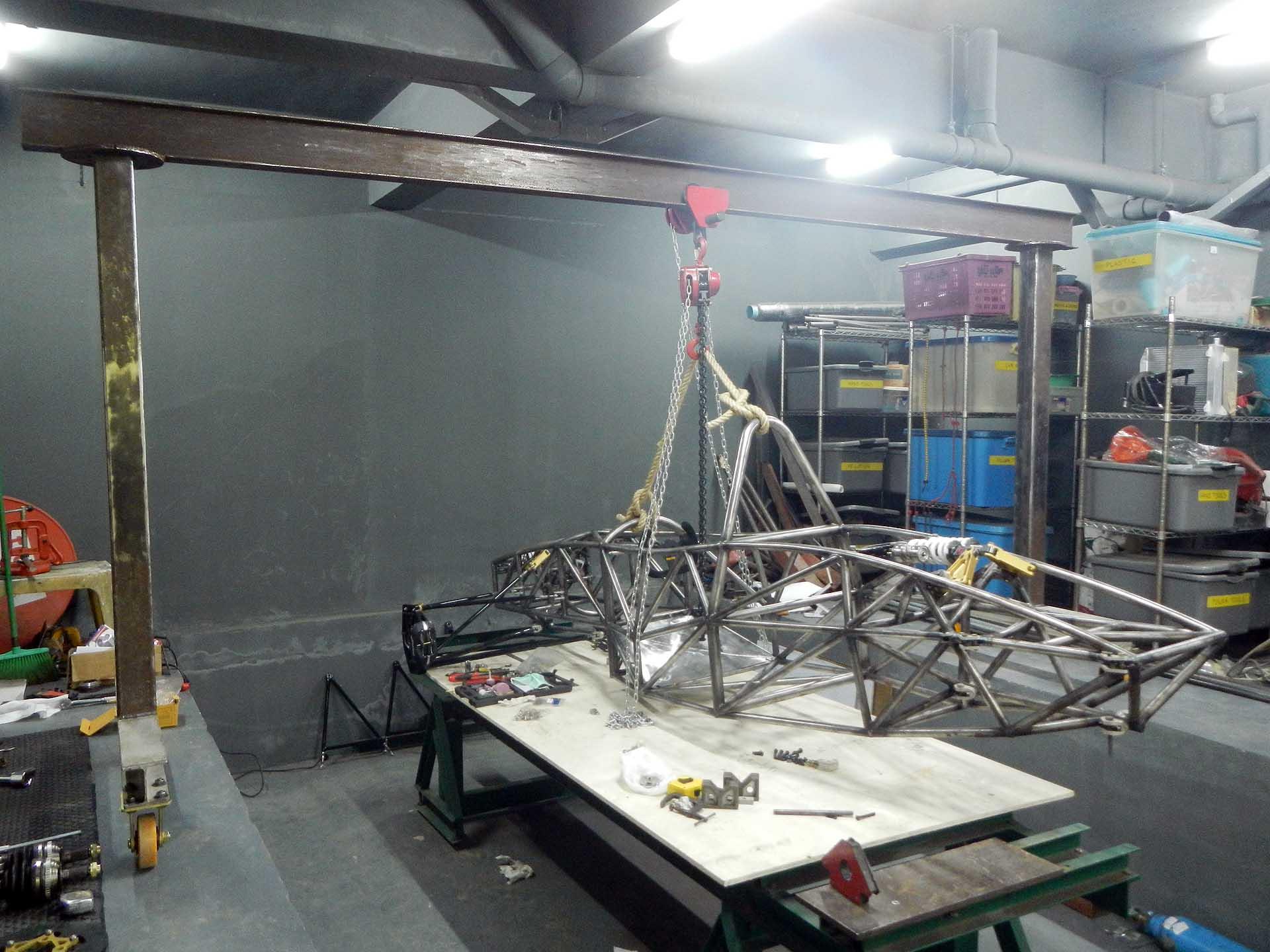 Building a Workshop Gantry Crane | LudemannEngineering