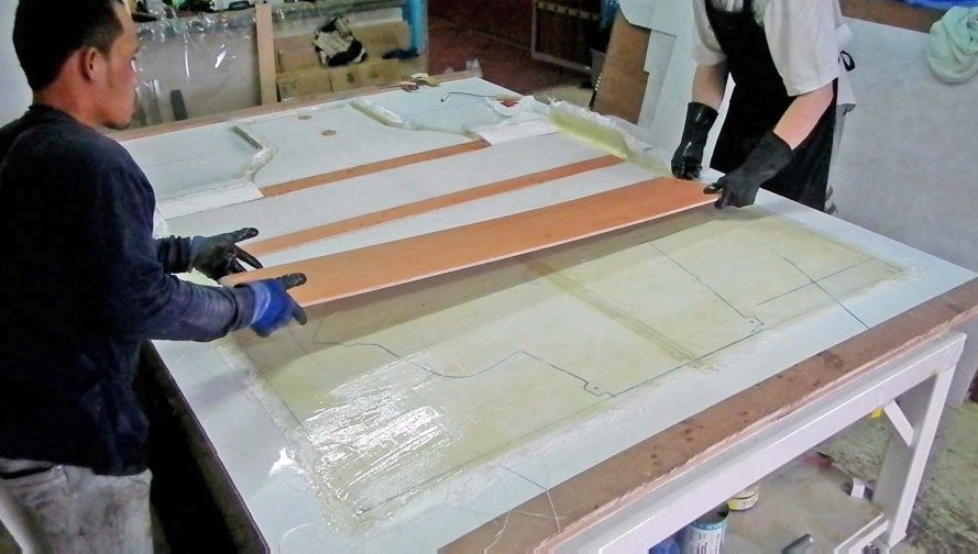 Laminating Plywood