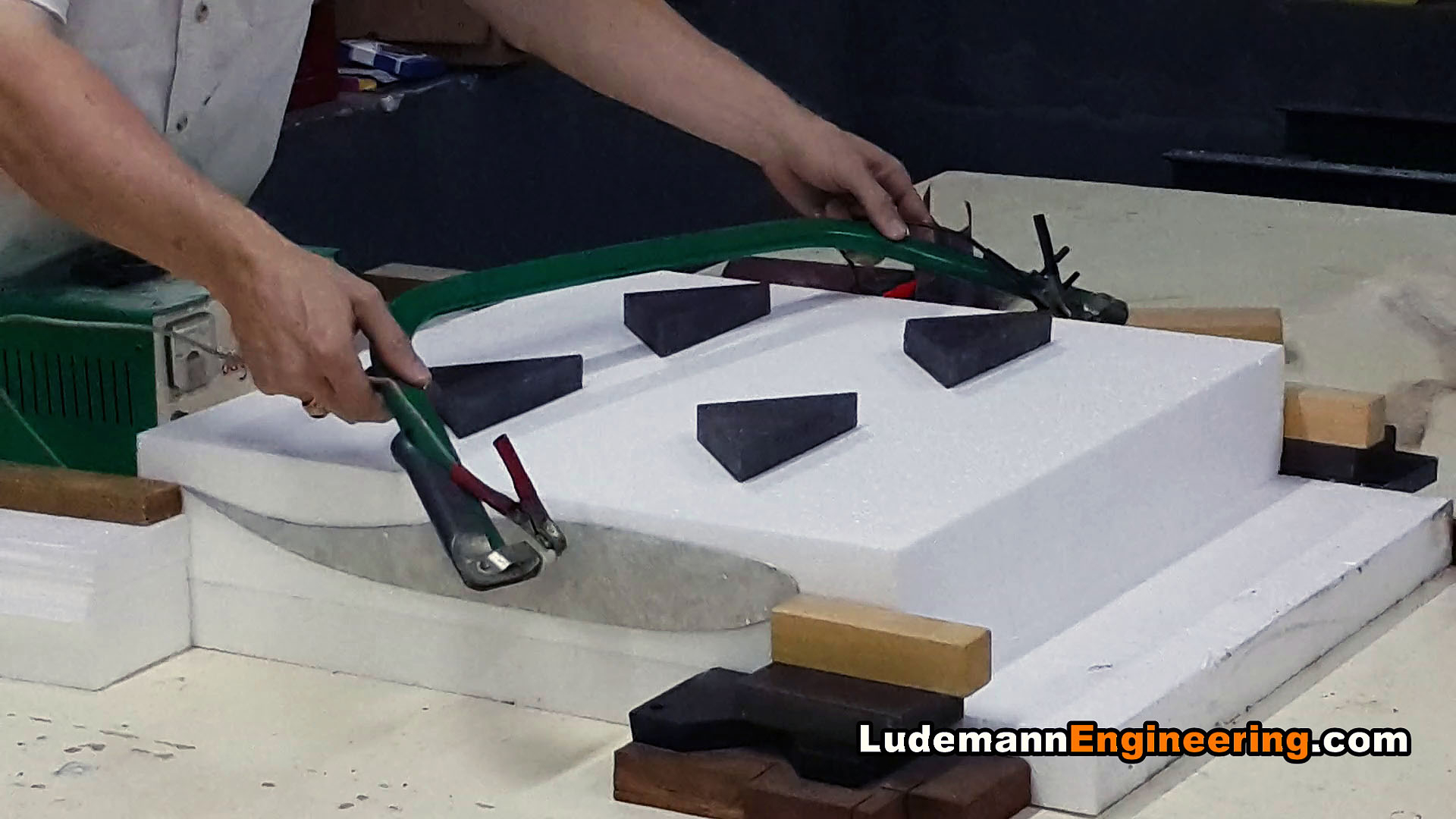 Race Car Ludemannengineering Hot Wire Foam Cutter Design Diagram Cutting Homemade
